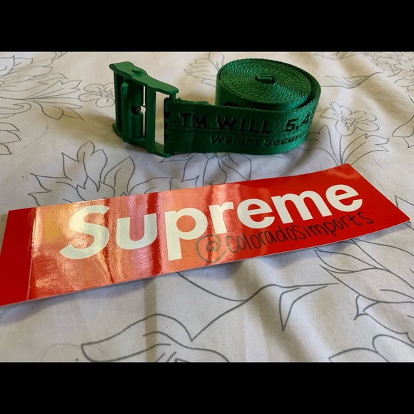 Off-White Other - Supreme x Dover street market belt super rare